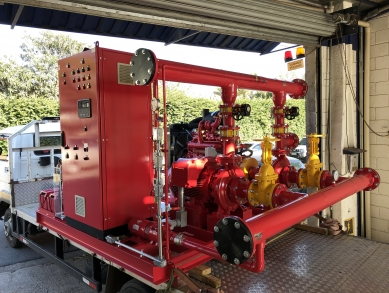 Montagem de conjuntos elétricos e a diesel